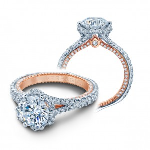 Verragio Couture-0463R-2WR Platinum Engagement Ring