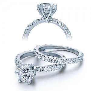 Verragio Platinum Couture Engagement Ring Couture-0372