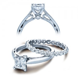 Verragio Platinum Couture Engagement Ring Couture-0409 P