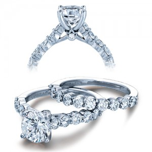 Verragio Platinum Couture Engagement Ring Couture-0410 M R