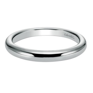 Gabriel 14 Karat Contemporary Wedding Band WB6606W4JJJ