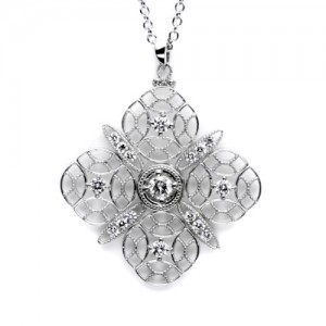 Tacori Diamond Necklace Platinum Fine Jewelry FP650