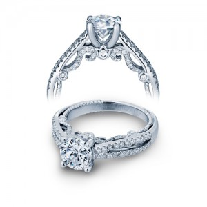 Verragio Platinum Insignia-7073R Engagement Ring