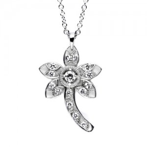 Tacori Diamond Necklace Platinum Fine Jewelry FP638
