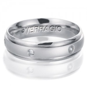 Verragio Platinum Diamond Wedding Band VWD-6913
