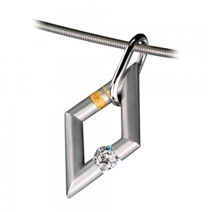 Kretchmer Platinum Mini Jazz Pendants Tension Set Pendant