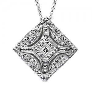 Tacori Diamond Necklace Platinum Fine Jewelry FP802