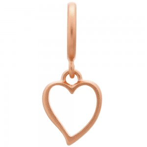 Endless Jewelry Big Heart Rose Gold Plated Charm 63202