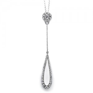 Tacori Diamond Necklace Platinum Fine Jewelry FP578