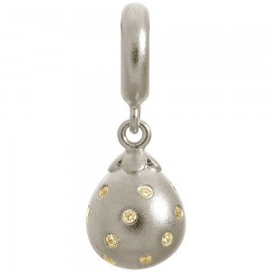 Endless Jewelry Golden Star Drop Sterling Silver Charm 43800-5