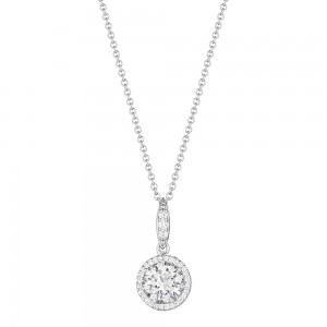 Tacori Diamond Necklace 18 Karat Fine Jewelry FP6716
