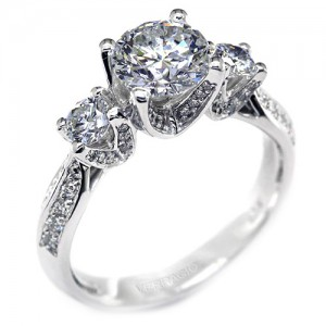 Verragio Platinum Classico Engagement Ring ENG-0304