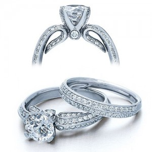 Verragio Platinum Classico Engagement Ring ENG-0323