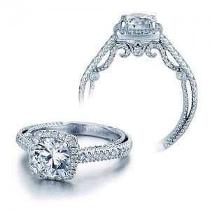 Verragio Platinum Insignia-7061CU Engagement Ring