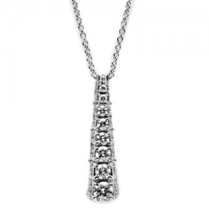 Tacori Diamond Necklace Platinum Fine Jewelry FP590
