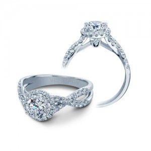 Verragio Platinum Couture Engagement Ring Couture-0384