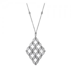 Tacori Diamond Necklace Platinum Fine Jewelry FP1007