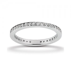 Eternity Diamond Band 14 Karat Taryn Collection TQD 6-1-944