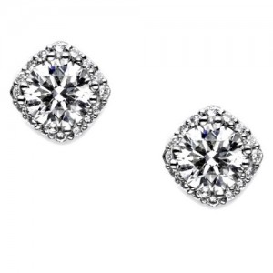 Tacori Diamond Earrings 18 Karat Fine Jewelry FE64345