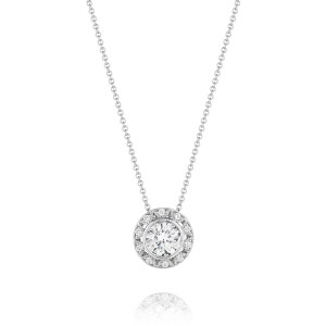 Tacori Diamond Necklace 18 Karat Fine Jewelry FP5276