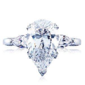 HT2628PS14X9 Platinum Tacori RoyalT Engagement Ring