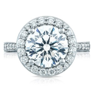 HT2650RD10 Platinum Tacori RoyalT Engagement Ring