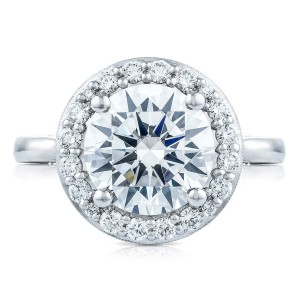 HT2651RD95 Platinum Tacori RoyalT Engagement Ring