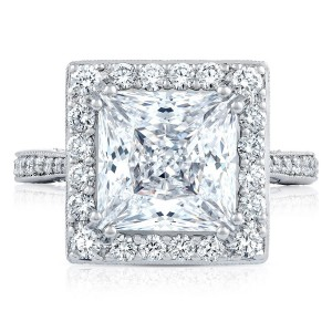 HT2652PR9 Platinum Tacori RoyalT Engagement Ring