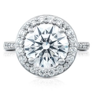 HT2652RD10 Platinum Tacori RoyalT Engagement Ring