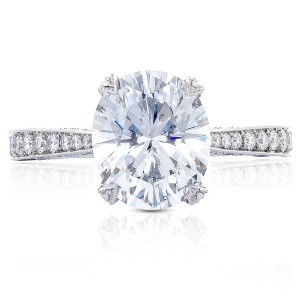 Tacori HT2626OV10X85 18 Karat RoyalT Engagement Ring