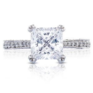 Tacori HT2626PR75 18 Karat RoyalT Engagement Ring