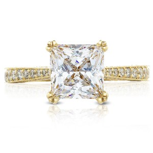 Tacori HT2626PR75Y 18 Karat RoyalT Engagement Ring