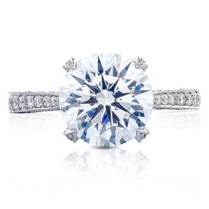 Tacori HT2626RD10 18 Karat RoyalT Engagement Ring