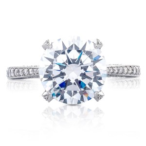 Tacori HT2627RD10 18 Karat RoyalT Engagement Ring
