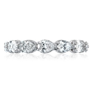 Tacori HT2642W65 Platinum RoyalT Wedding Ring