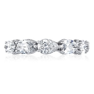 Tacori HT2643W65 Platinum RoyalT Wedding Ring