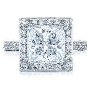 Tacori HT2650PR9 18 Karat RoyalT Engagement Ring
