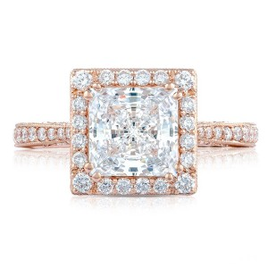 Tacori HT2652PR7PK 18 Karat RoyalT Engagement Ring