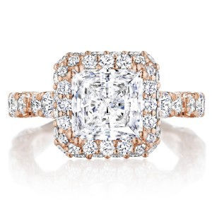 Tacori HT2653PR75PK 18 Karat RoyalT Engagement Ring