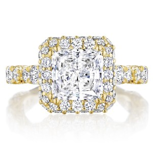 Tacori HT2653PR75Y 18 Karat RoyalT Engagement Ring