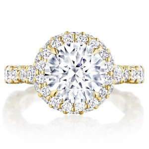 Tacori HT2653RD9Y 18 Karat RoyalT Engagement Ring
