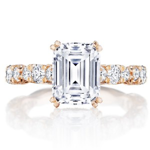Tacori HT2654EC9X7PK 18 Karat RoyalT Engagement Ring
