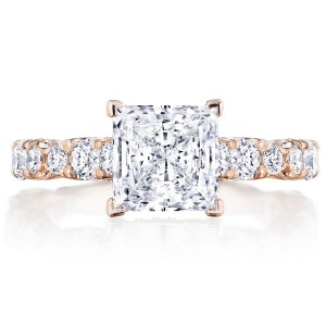 Tacori HT2654PR7PK 18 Karat RoyalT Engagement Ring