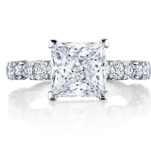 Tacori HT2654PR8 18 Karat RoyalT Engagement Ring