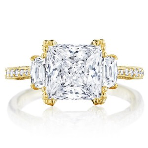 Tacori HT2655PR8Y 18 Karat RoyalT Engagement Ring