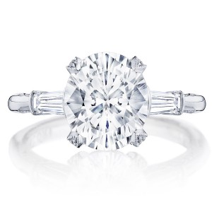Tacori HT2657OV10X85 18 Karat RoyalT Engagement Ring