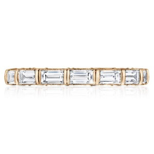 Tacori HT2658PK65 18 Karat RoyalT Wedding Ring
