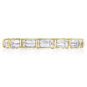 Tacori HT2658Y65 18 Karat RoyalT Wedding Ring