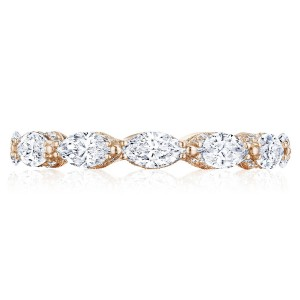 Tacori HT2660PK65 18 Karat RoyalT Wedding Ring