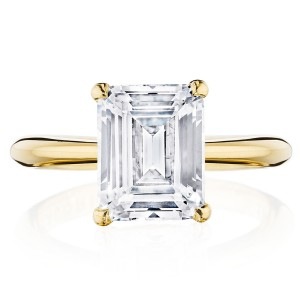 Tacori HT2671EC95X75Y 18 Karat RoyalT Engagement Ring